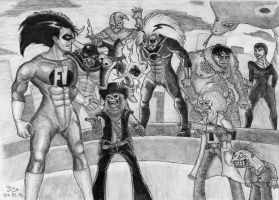 Freakazoid and friends by Fernoll