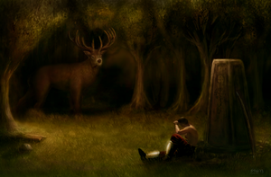 Little Rest by snakeartworx