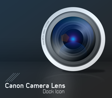 Canon Camera Lens Icon by Zinglish