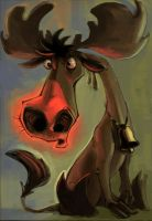 Rudolf da MOOSE by Nutthead
