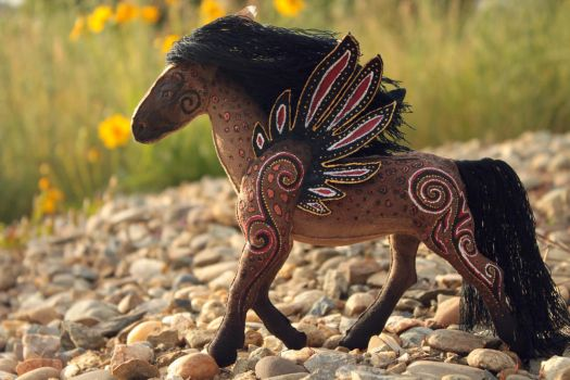 Arhatto - wind-horse by hontor