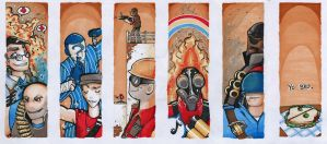 TF2 bookmarks! by Papercutzz