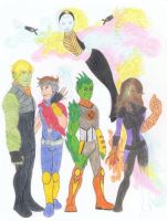 Young Marvel LGBT Heroes by tapwater86