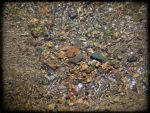 small stones at Struma river by AnOceanSoul