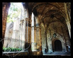 barcelona cathedral by DeepKick