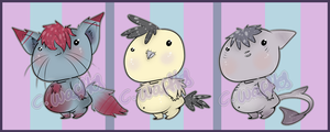 Chubby derps adopts [Closed] by CorruptedWaffles