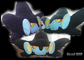 Luxray Head WIP by xSystem