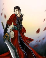 Auron by AngelofDeathz