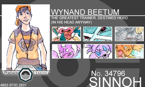Trainer - Wynand Beetum by Pokemon-League