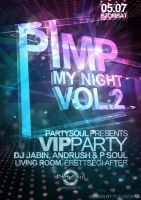 Pimp my Night Vol.2 Flyer by andraspop