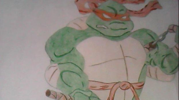 Ninja turtle by GlisteningAngle