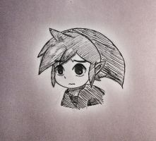 Link from Wind Waker by hollyvalance