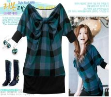 Korean Style Lovely Dress by fashionclothing4u