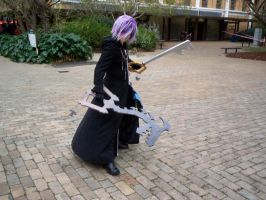 Zexion - Keyblade Weilder by Ishtarl-Demonic-Fox