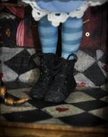 Alice Wonderland shoes by SutherlandArt