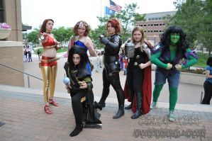 Avengers Assemble... by missy2laina