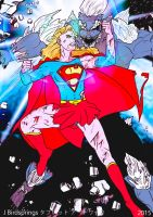 Supergirl VS Doomsday! In His Place I Will Fight! by J-BIRDSPRINGS