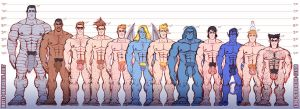 X-Boys Height Chart by ANTI-HEROES