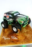 Grave Digger 3D Cake by Verusca
