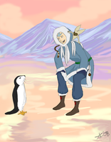 Day 1-- Aang by Golden-Flute