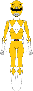 Yellow Ranger (1993-1995) by WILLIAM-1998