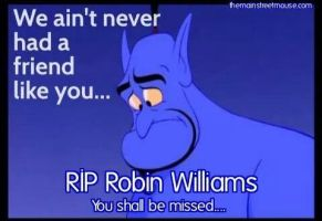 Robin Williams R.I.P. by NikolasGraham