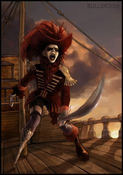 Manson Pirate by bullsik