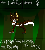 LarkDusk ref by xTROPIC-CARRlBEAN