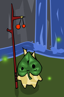 Young Korok by ThunderMagi