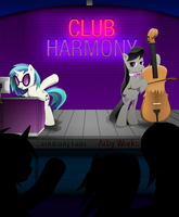 Club Harmony Title Page by Arby-Works