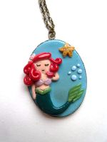 The little mermaid necklace by curry-brocoli