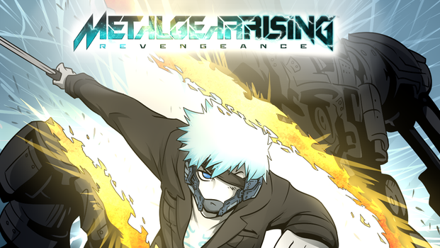 Basil in Metal gear Rising Revengeance by SillySixShooter