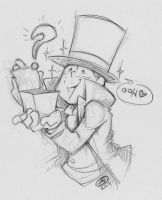 Goofy Layton Sketch:  2Hoots suggests... by zillabean