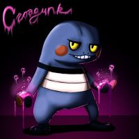 Croagunk Uses Toxic by fablefire