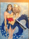 Wonder Woman commission by Chad Spilker by spilkerart