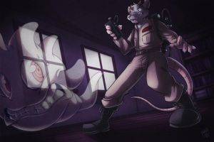 Ghostbuster by artofhahul
