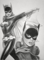 Batgirl - Yvonne Craig - 1966 Batman TV Series by jonathan-hillmer