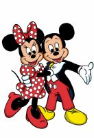 Mickey and Minnie by dgtrekker