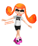 Inkling Girl Model by PolygonCount