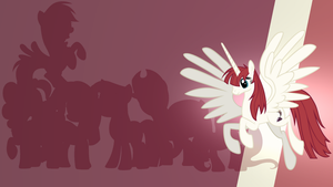 Lauren Faust Alicorn Gradient Wallpaper by RDbrony16