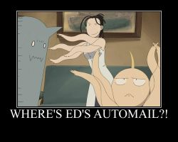Where is Ed's Automail?! by Angel-of-Alchemy-42