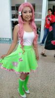 Fluttershy Equestria Girls Cosplay by Eri-nyan