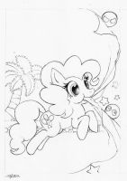Pinkie's Adventure +Pencils by foolyguy