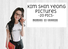 Ulzzang Kim Shin Yeong Pack -20PICTURES- by KIMJAEJOONGLOVE