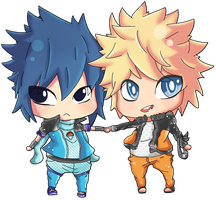 chibi narusasu by Miss-Nosy
