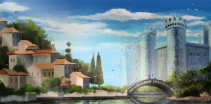 Concept#Village-XIV by odilon2012
