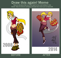 Draw this again meme second one by MAGAM88