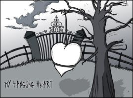 My Hanging Heart by chromecyborg