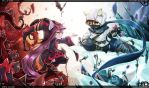 [LOL] Kennen x lulu finish by beanbean1988