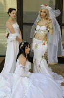 Yuna, Garnet and Ashe by popecerebus